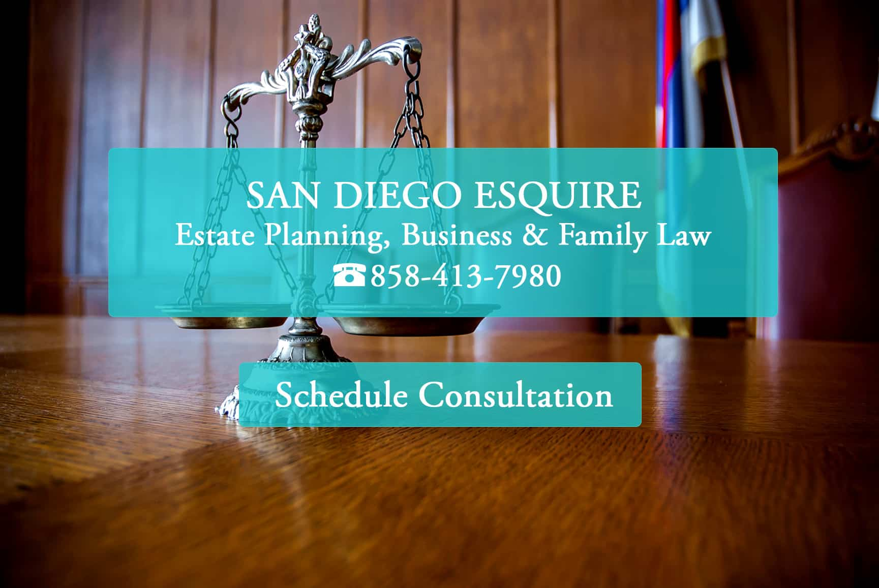 San Diego Esquire home page - Estate Planning, Business & Family Law