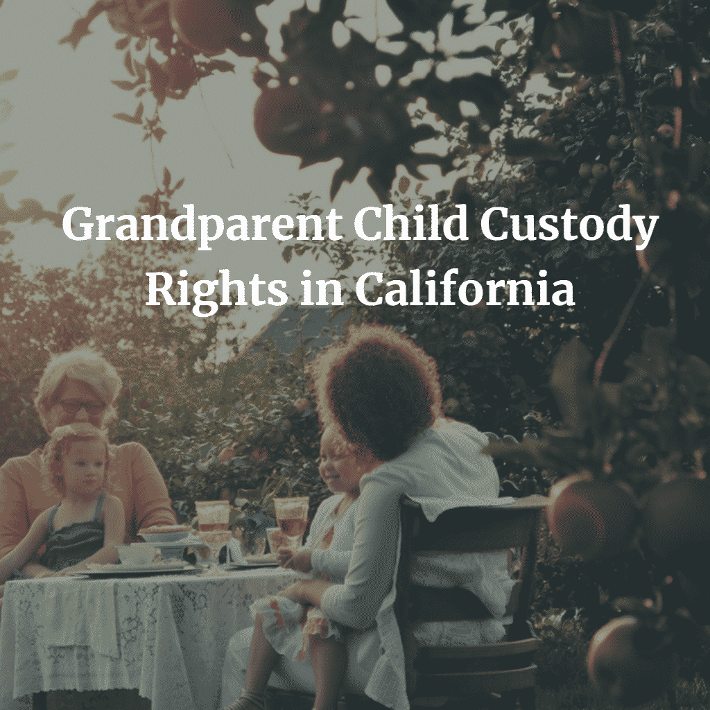 Grandparent Child Custody Rights in California